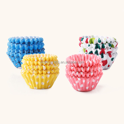 Disposable paper cake cup Factory Direct Wedding Party And Birthday Cake Cup Decorating Personalized Mini Paper Cupcake Liners