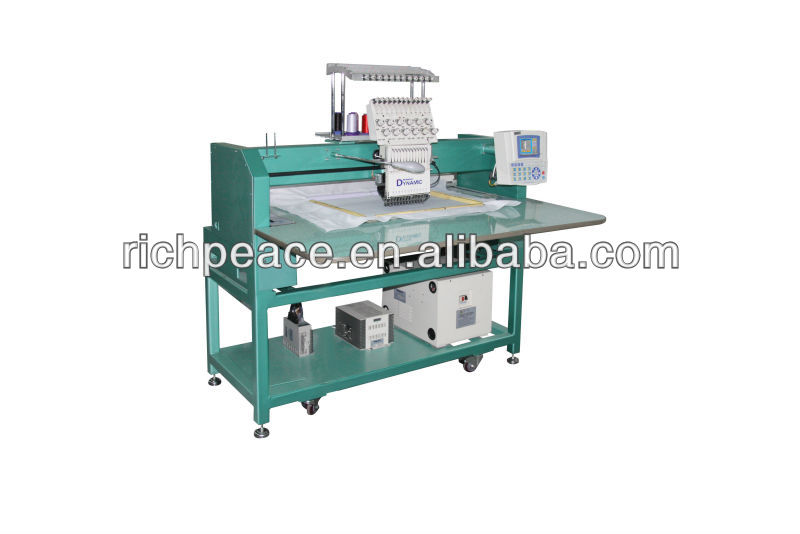 Richpeace Single Head Cap& Tubular Embroidery Machine 2014 ...