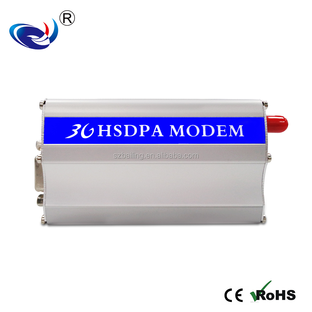 Small size Gsm RS-232 bulk sms gprs modem with AT Command&Antenna modem