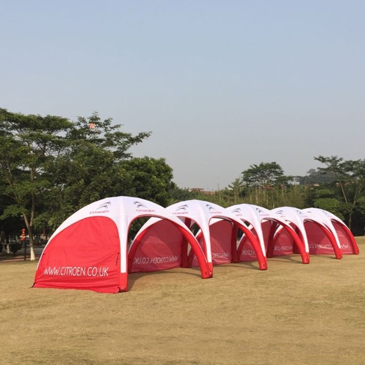 Kaicheng fast delivery inflatable dome tent isolation disinfection tents//