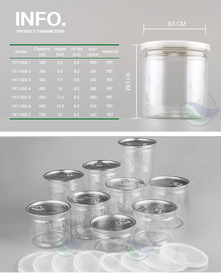Guang zhou plastic wrap seal biodegradable packaging containers tissue culture bottle 100ml spice jar