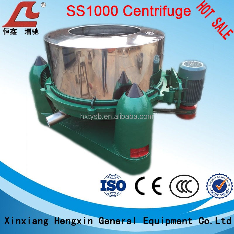 Three-leg Dewatering Centrifuge used for solid- liquid separation