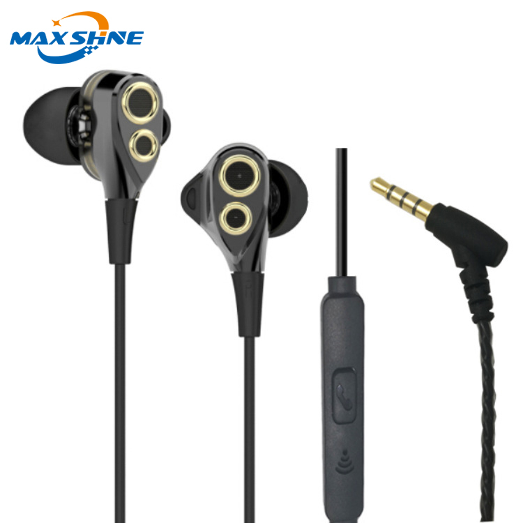 Heavy bass earphone with speaker factory supplier guangzhou universal earphone for mobile phone