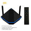 Wholesale Pyramid J11 Smart Android Tv Set Top Box Rockchip Rk3328 2Gb 16Gb Android 7.1 Multilateral Channels Iptv Tv Box