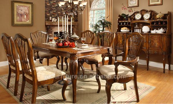 Antique German Dining Room Furniture