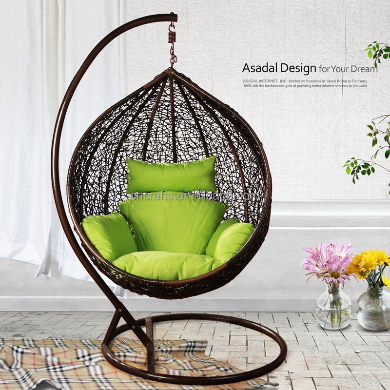 Charmant Outdoor Wicker Furniture Rattan Swing Chair/ Porch Swing Chair With Hanging  Stand(ld Hc0109)   Buy Wicker Hanging Swing Chair,Cheap Wicker Rattan Chairs  ...