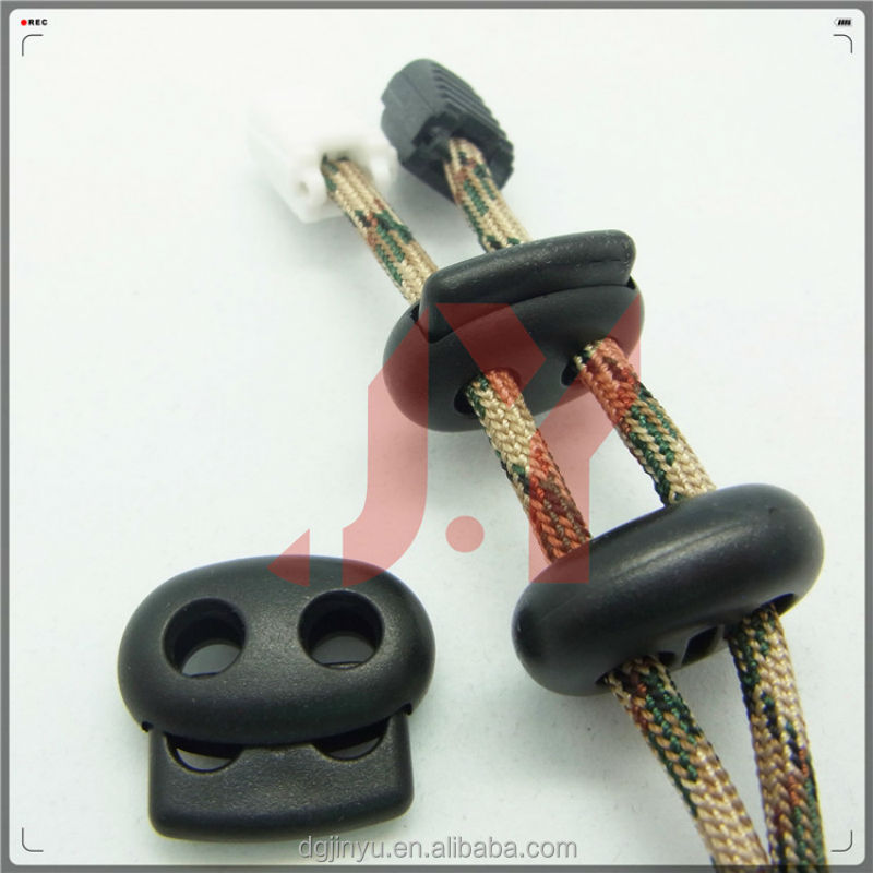 ABS plastic cord lock/plastic stopper/string stopper for bag/garment