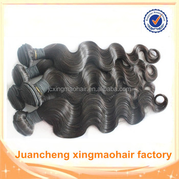 Juancheng Factory wholesale 10inch-30inch Brazilian hair weave bundles