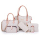 Womens Arrows Printed Bag Sets Purses 6pcs Handbags Shoulder Bags Sets