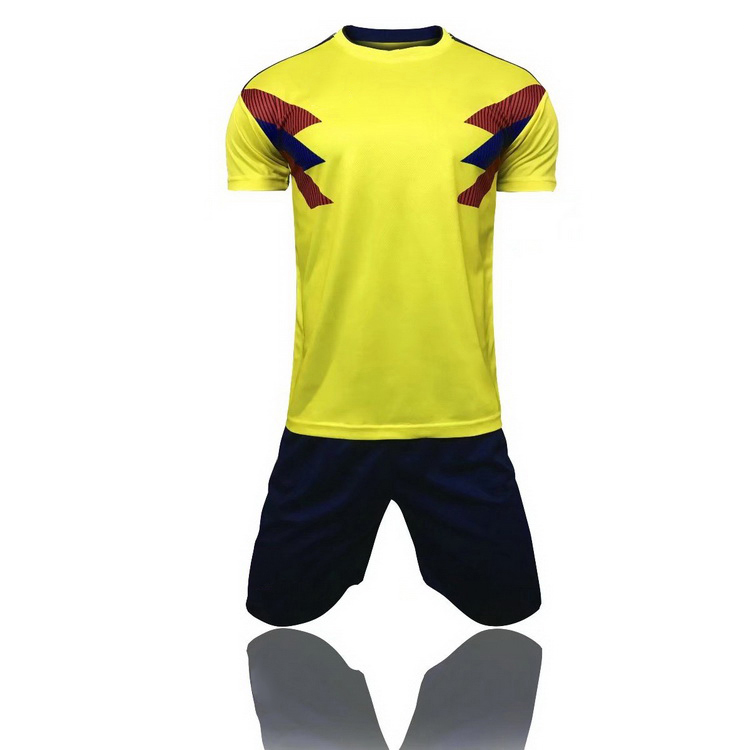 detailed pictures 69bbe 1c505 2018 Last Design Colombia National Team Soccer Jersey - Buy Soccer  Jersey,Team Soccer Jersey,National Team Soccer Jersey Product on Alibaba.com