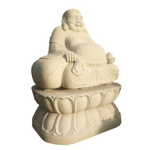 Super blanco Onyx Buda <span class=keywords><strong>estatua</strong></span>