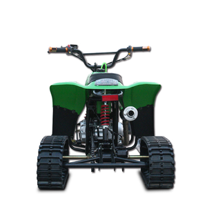 Factory direct sled crawler adult four-wheeled ski ATV 125cc snowmobile  with reverse ATV motorcycle