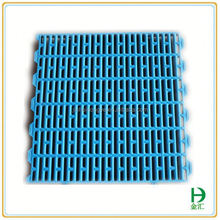 PP material 600*600mm size long life plastic pig slat floor for sale