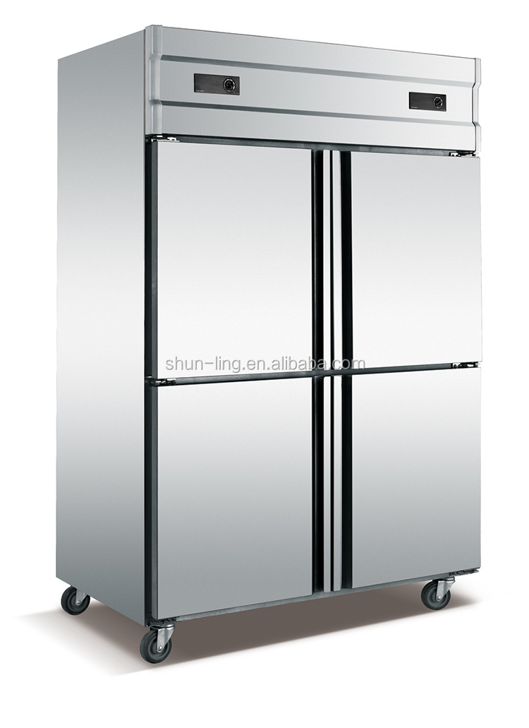 1000l Commercial Upright Stainless Steel Freezer