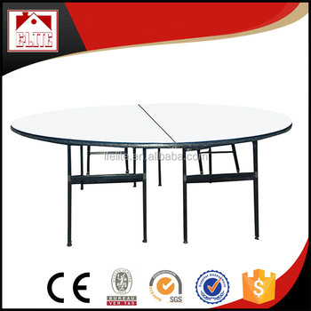 10 Person Round Banquet Table Modern Folding Hotel Ez 68