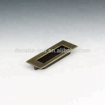 Furniture Hardware Zinc Die Cast Recess Cabinet Pull   Buy Cabinet Recessed  Drawer Pull,Furniture Handles,Cupboard Pull Product On Alibaba.com