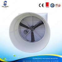 HS-1460frp fiber-glass heavy duty wall mounted chicken house,pig farm,cow farm air cooling exhaust cone fan