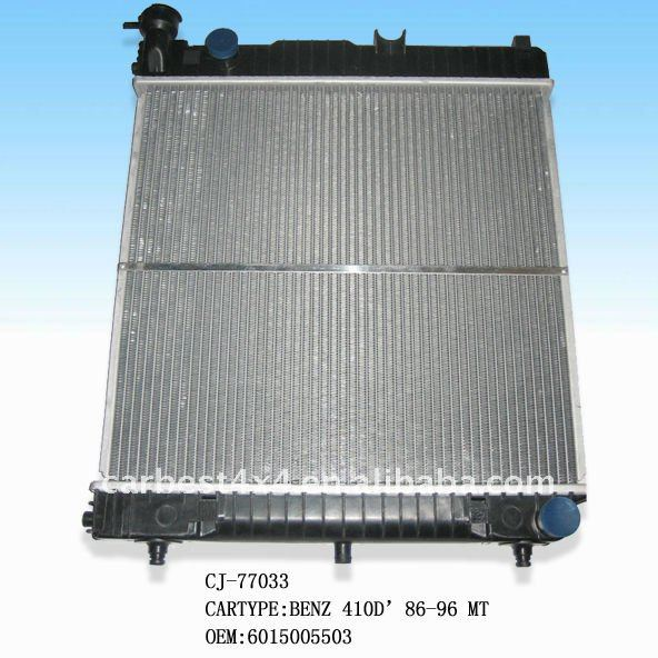 AUTO RADIATOR FOR BENZ 410D' 86-96 MT