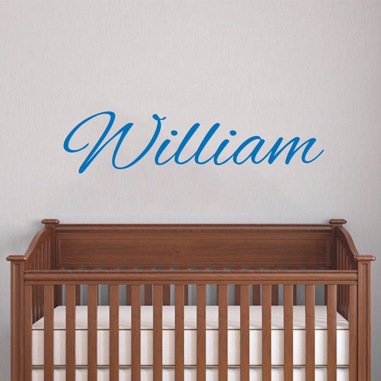 Personalized Name Wall Decal Baby Nursery Boys Decals