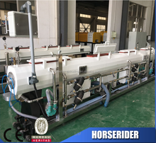 pp ppr central airconditioner wind pipe extrusion line/plastic pp ppr air cond pipe tube stock machinery/PP production line