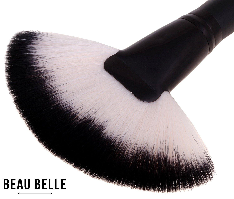 4a2aa6cbd41 Beau Belle Fan Brush - Highlighter Brush - Highlighting Brush -  Highlighting Brush Fan - Professional