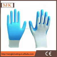 women cleanroom gloves/protective nitrile foam gloves