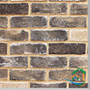 Old castle wall decorative brick texture