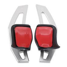 Алюминиевый Рычаг Переключения рулевого колеса для Volkswagen VW Jetta MK5 MK6 DSG аксессуары(China)