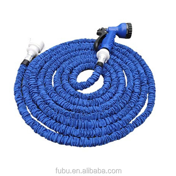 50 FT Car Wash Water Gun Garden Water Suction Hoses Household Set Garden Watering The Magic Retractable Water Pipe
