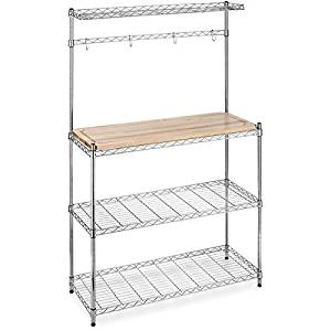 Large Bakers Rack for Additional Kitchen Storage Space