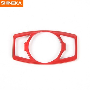 SHINEKA Best Quality Car Head Lamp Head Light Decorative Cover for Ford Mustang 15+