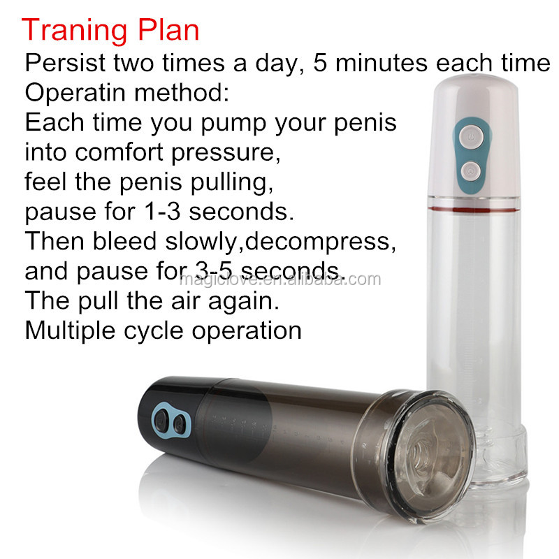 Electric Penis Extender Pump Strong Automatic Enlargement Vacuum Erection cock enlarger sex toy for men