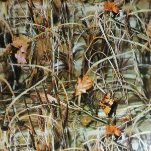 TCS 50cm width Cubic Water Transfer Printing/hydrographic dipping film of 3D Withered Grass Camo pattern