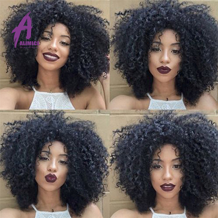Cheap Weave Fashion Source Wholesale African Curly Weft Virgin Hair Extensions