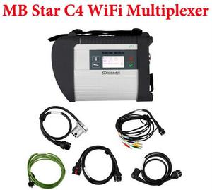 2016 Newest Wifi MB Star C4 MB SD Connect 4 compact 4 without Newest software HDD and Vediamo Multiplexer Star Diagnostic tool