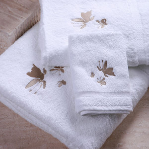 China Supply 100% Egyptian Cotton Luxury Face Towel Hotel Bath Towel Wholesale