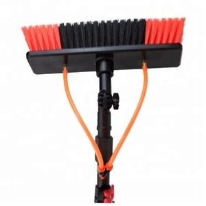 Multifunction Plastic Telescopic extension mop pole with long Handle