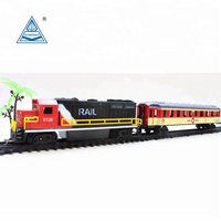 Christmas Hobby ho Scale Model Electric Train Toy Sets Battery Operated Toy Train
