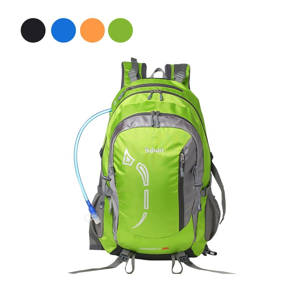 Get Quotations · Tuban 38L Hiking Backpack Hydration Backpack Outdoor  Cycling Travel Climbing Camping Fishing Mountaineering Backpack Waterproof  rain 3eccf5758fd6f