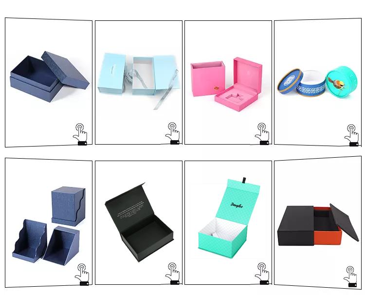 Groothandel octagon papier karton kids/kinderen speelgoed doos met transparante deksel