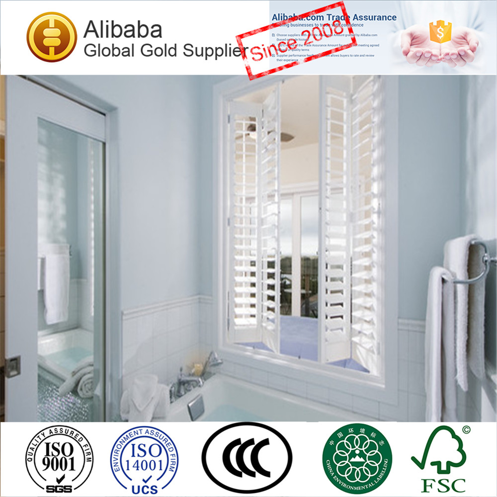Top Quality with Cheap Price of Custom Tag White Coated Bamboo Roller Blinds and Plantation Shutters