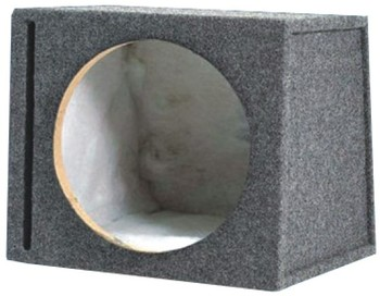 Mdf Construction 10 Inch /12 Inch Speaker Box Bass Enclosure Empty  Subwoofer Enclosure For Car Truck Suv - Buy 10 Inch Speaker Box,12 Inch  Bass