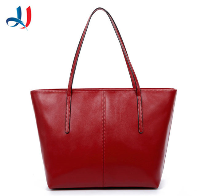 China Wholesale new products fashion PU leather women tote bag Large Capacity ladies shopping handbag