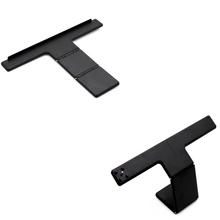 NEW Black Hard Plastic Adjustable Clip TV Stand Hold Holder Camera Mount For PS4