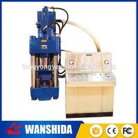 Green energy large profit wood sawdust briquetting press machine