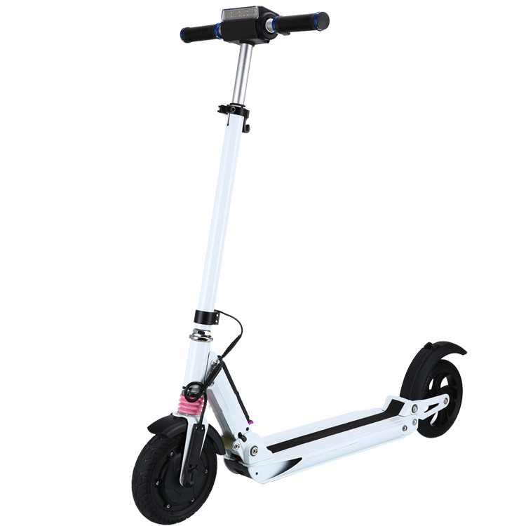 September discount electric scooter china 2018 foldable electric scooter motor cheap china scooter for adult, Black