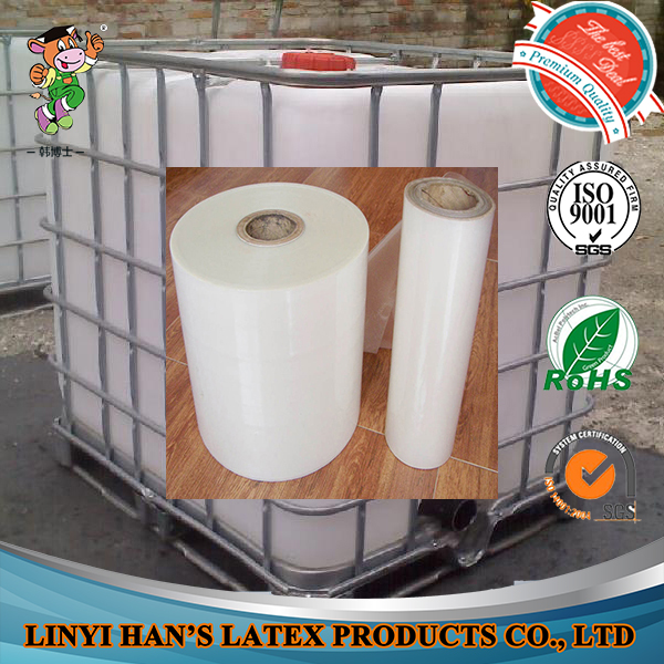 white liquid PET lamination glue for paper bag with ISO9001