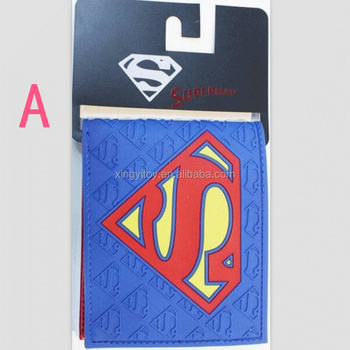 Marvel Super Hero 7 Types Action Figure Wallet Man Logo Purse