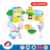 most popular DIY educational 34 pcs plastic building blocks toys for kids