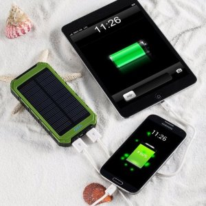 Consumer Electronics Solar mobile charger rohs manual, 8000mah portable solar power bank